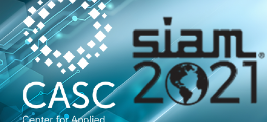 CASC and SIAMCSE logos side by side