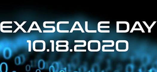 exascale day with date of October 18