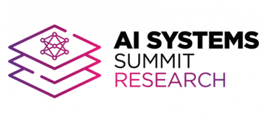 AI systems summit logo on white background