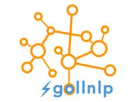 GOLLNLP logo of interconnected circles representing a network