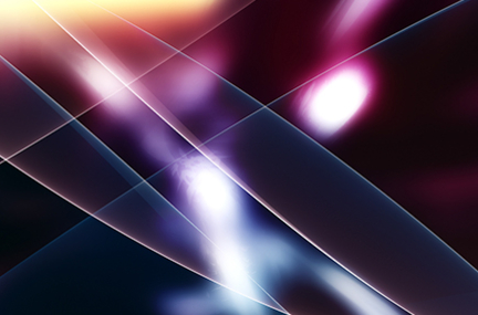 abstract image of laser lines and lights