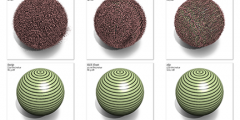 spherical ZFP images showing progression of in-line floating point compression